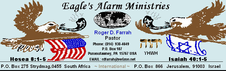 Eagles Alarm Ministries